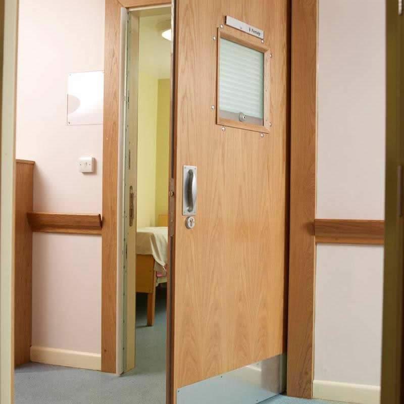 Double Swing Door Hinge System | Intastop on