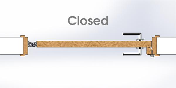 Secura Anti-Barricade Lock - Closed
